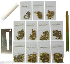 Custom Schlage Rekey Locksmith Pins Kits Bottom Pin 50 Pc 3 Tools Free Shipping