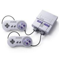 Nintendo Super NES Classic Video Game Console