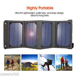 suaoki 7w solar ladeger t portable sonnenkollektoren. Black Bedroom Furniture Sets. Home Design Ideas