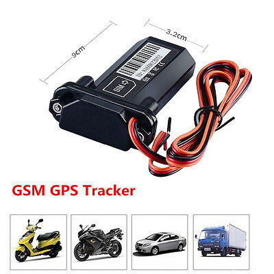 New Car Vehicle Motorcycle GSM GPS Tracker Locator Global Real Time Track Device