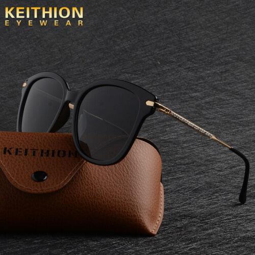 KEITHION Retro Womens Sunglasses Polarized Driving Mirror Fashion Shades Eyewear