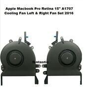 """Laptop CPU Cooler Cooling Fan for Apple Macbook Pro Retina 15"""" A1707 Left  Right"""