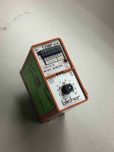 #457 BIRCHER  TZMP  0,1-300M   48V  AC//DC  TIME RELAY