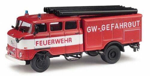 Feuerwehr H0 IFA W50 LF16 Neu Busch 95170-1//87 GW-Gefahrgut