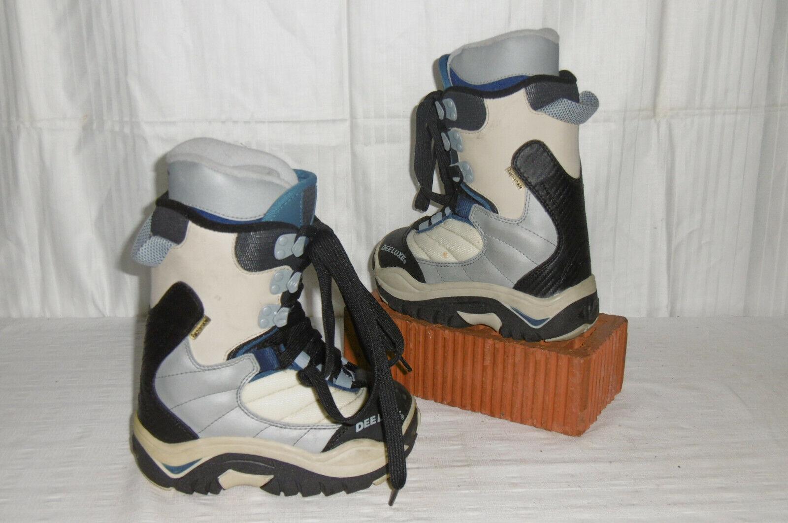Deeluxe  DAEMON  Top Junior Snowboard Stiefel Größe  29