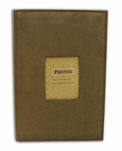 Suede-Brown-Cover-Photo-Album-Holds-300-4-034-x6-034-pictures-3-per-page