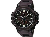 GWA1000FC-5A Casio G-Shock G-Aviation Brown Watch Atomic Smart Access