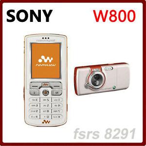 W800 100 Original Unlokced Sony Ericsson W800 Telefono Movil 2g Bluetooth 2 0mp Ebay
