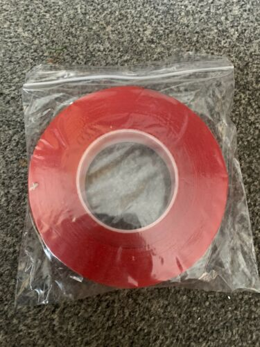 Super Strong Double-sided Clear Transparent Super-Adhesive Tape  25mmx 50 Mtrs
