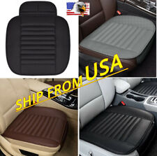 Pu Leather Car Seat Cover Mat Front Chair Cushion Pad Protector