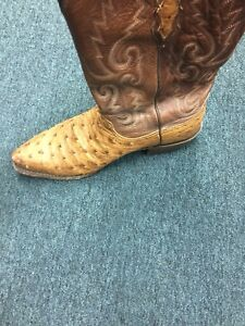 13eefc6b0ae Details about lucchese mens boots - Pin Ostrich Lucchese Barnwood #N1062-5/4
