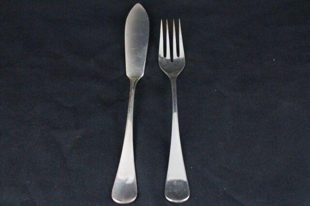 Robbe & Berking Design 35 Fischbesteck für 6 Personen 925er Silber (c1112)
