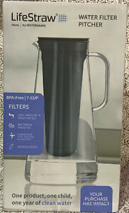 📀 LifeStraw Home Water Filter Pitcher BPA Free - 7 Cup