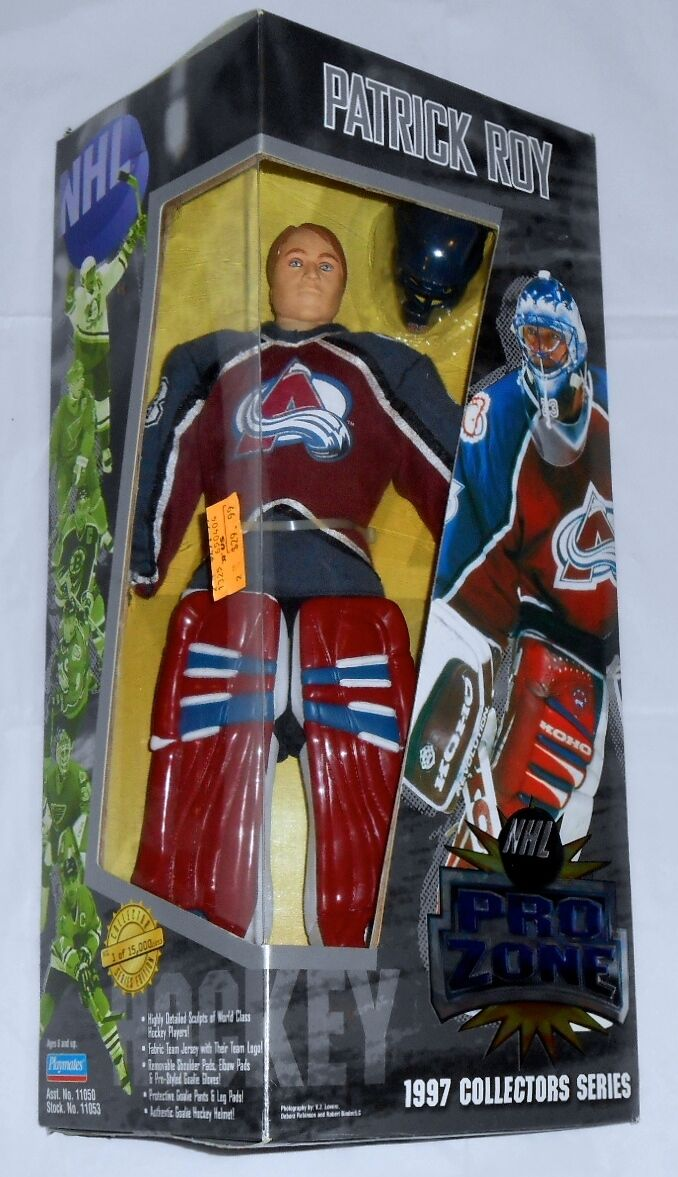 1997 NHL PRO ZONE colorado Avelanche Patric Roy Collectors Series LTD NEW