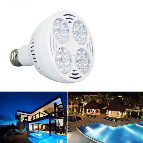 E26 120V 35W 6000k Daylight White Light Swimming Pool LED Replacement Bulb Lamp