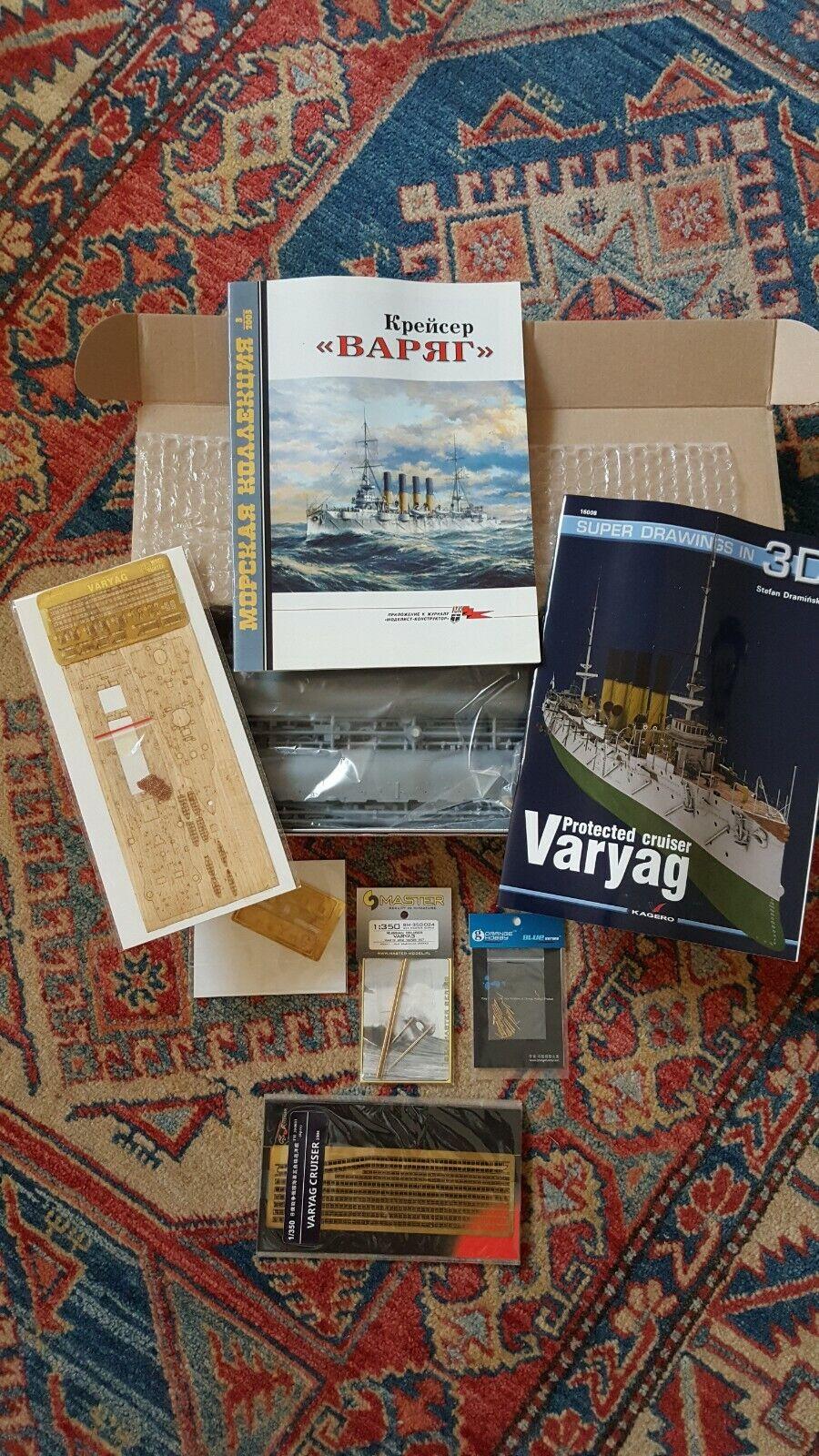 CRUISER  VARYAG – WW1 – SVEZDA – 1 350