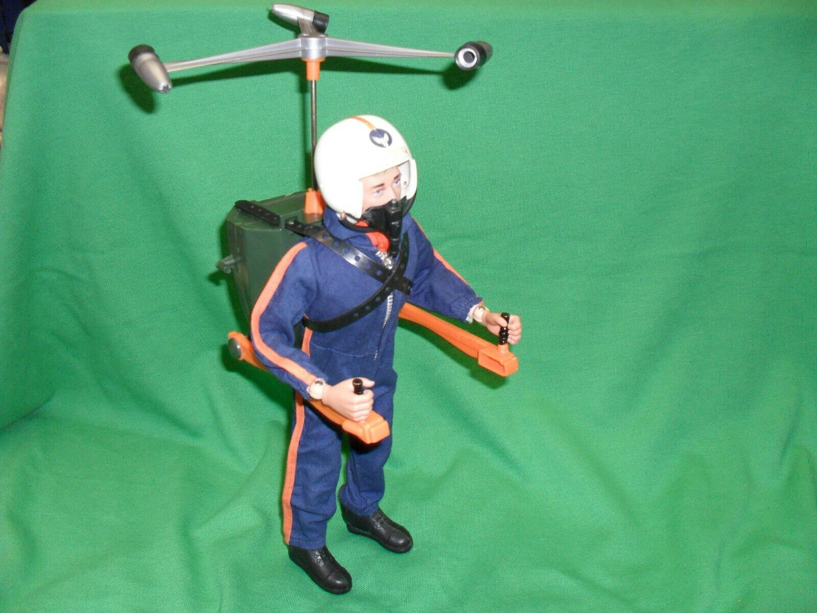 VINTAGE ACTION MAN HELICOPTER PILOT