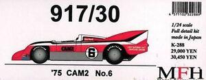 Mfh Modèle Usine Hiro 1/24 917/9.1m75 Cam2 Numéro 6 Complet Détail Kit