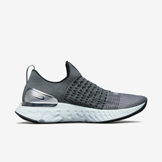 Size 13 - Nike React Phantom Run Flyknit 2 Iron Gray Silver 2020 ...