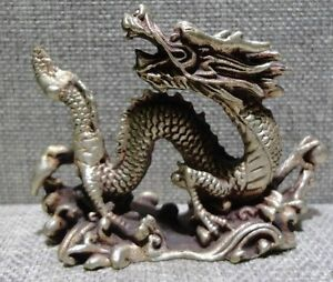 Chinese-old-bronze-copper-dragon-statue