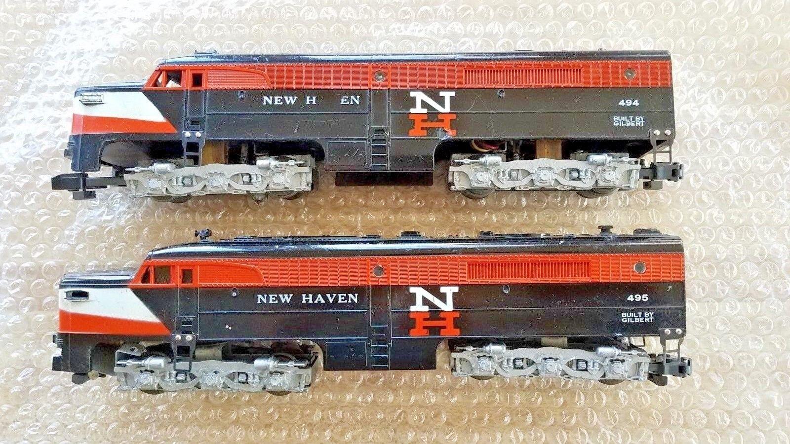 American Flyer 494 y 495 unidades diesel NEW HAVEN PA