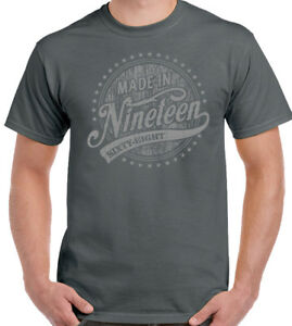 00f6d951 Made In Nineteen Sixty Eight 1968 - 51st Birthday Mens Funny T-Shirt ...