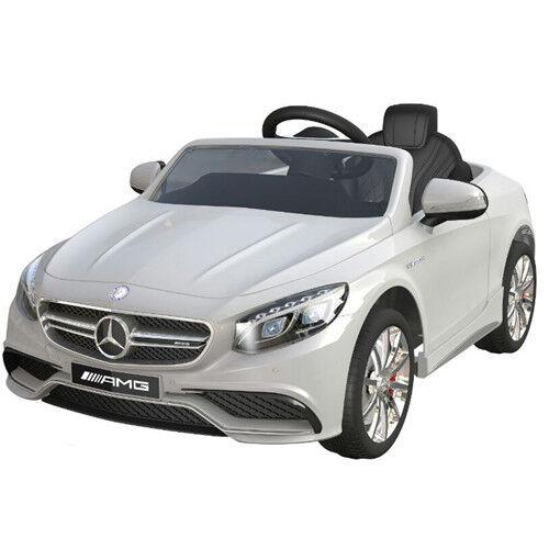 Mercedes-benz Amg S63 AUTO BAMBINO vettura per elettrica 2x MT 12V WS