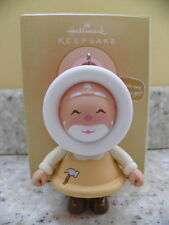 Hallmark 2011 Mystery Frosty Friend Toymaker Santa Christmas Ornament
