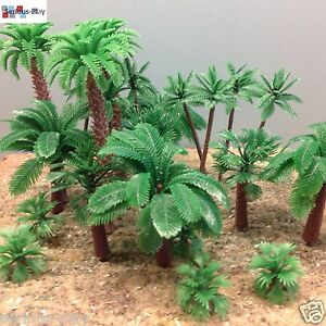 Serious-Play-Model-Palm-Trees-Railway-Warhammer-Scenery-wargaming-plastic-tree