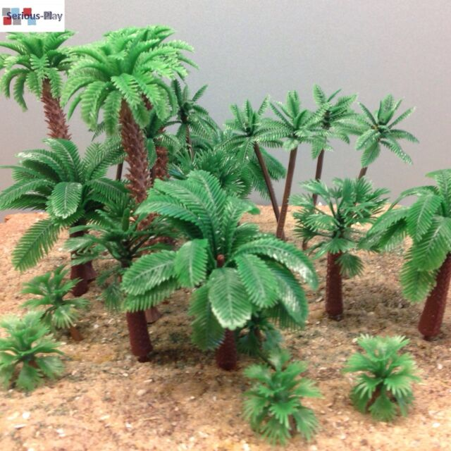 Serious-Play Model Palm Trees ~ Railway Warhammer Scenery wargaming plastic tree