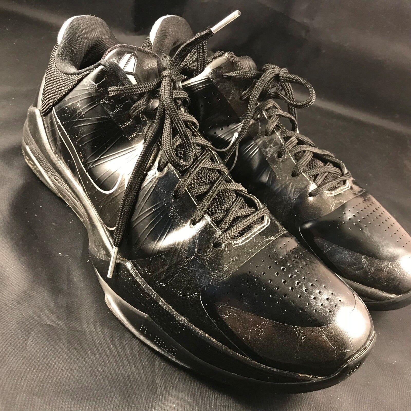 Nike Zoom Kobe 5 V Blackout BLACK WHITE RARE MENS US 11.5, 45.5