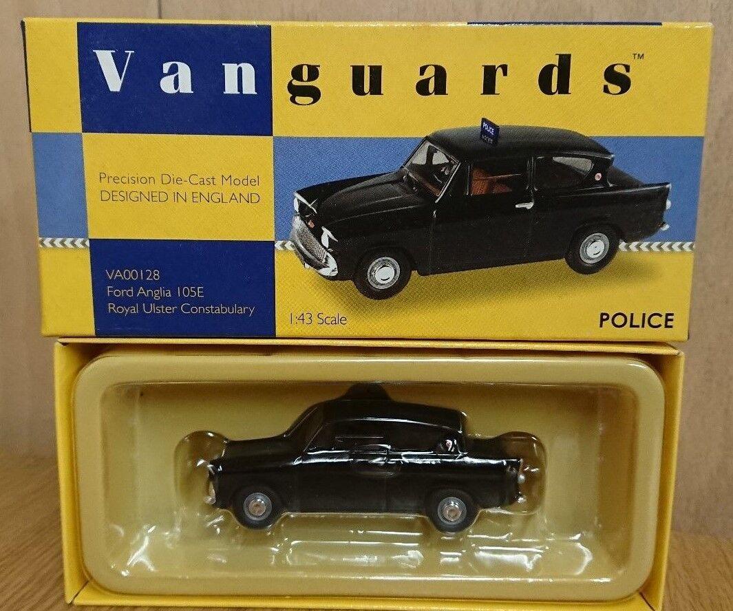 Corgi VA00128 Ford Anglia 105E Royal Ulster Constabulary Factory Sample