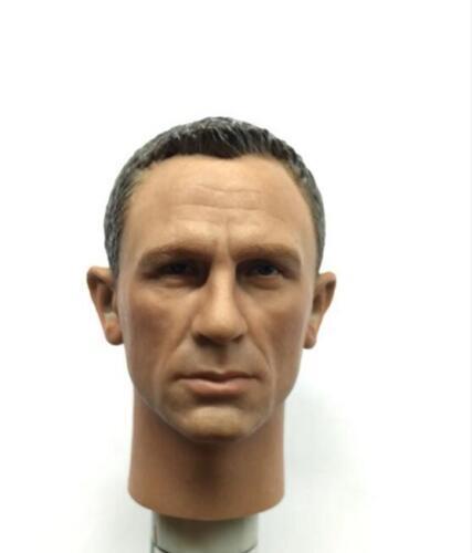 1//6 James Bond 007 Daniel Craig head 2.0 Spectre for hot toys body SHIP FROM USA