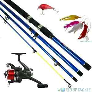 Travel sea pier fishing compact rod 9ft x treme and bm5000 for Best pier fishing rod