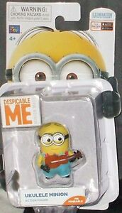 New-DESPICABLE-ME-2-Minion-Made-UKULELE-MINION-Poseable-2-5-034-Action-Figure