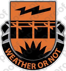 STICKER US ARMY UNIT 26th Signal Brigade Crest eBay