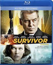 Survivor (Blu-ray/DVD, 2015, 2-Disc Set, Canadian)
