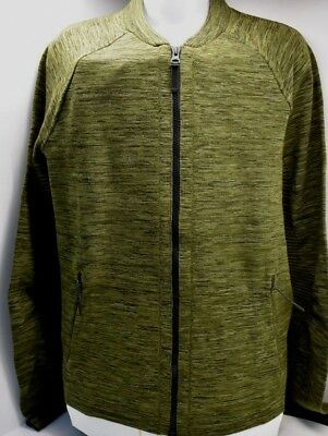 FREE SHIPPING BRAND NEW NIKE  Tech Fleece Knit  Jacket  Green//Black  Size  XL