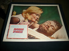vtg 1966 movie lobby card  BORN FREE  Columbia picture film poster  X