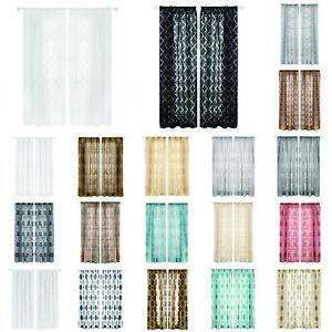 Bubble-Print-Blackout-Room-Darkening-Curtains-Window-Panel-Drapes-Door-Curtain