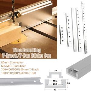 Aluminium-T-track-T-Bar-Profil-Schiene-Fuer-Holzbearbeitung-Fraestisch-Werkzeug