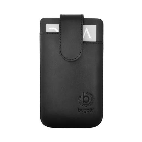 1 von 1 - bugatti SlimCase Leather SL NOKIA GALAXY S HTC  Handytasche 81 x 134 mm LEDER