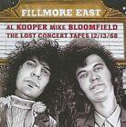 Fillmore East Lost Concert Tapes 12 13 68 Kooper Bloomfield CD