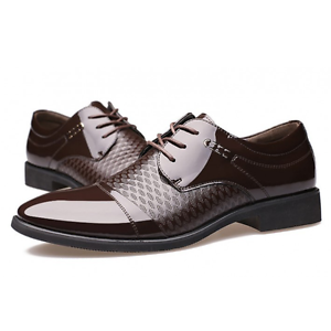 Mens-Casual-Pointed-toe-Leather-shoes-Dress-Formal-Business-Oxfords-US-6-5-9