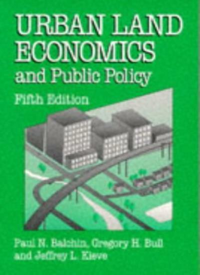 Urban Land Economics and Public Policy (Building and Surveying Series),Paul N.