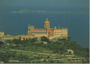 CARTOLINA-SICILIA-SICILY-POSTCARD-TINDARI-VEDUTA-PANORAMICA-SANTUARIO-TINDARI