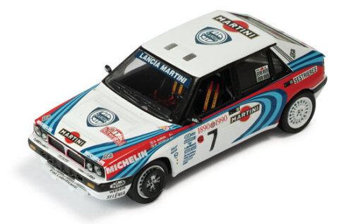 1 43 LANCIA DELTA INTEGRALE 16 V Martini winner Rallye Monte Carlo 1990 D. AURIOL