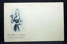 Marie Renard Theater Oper k.u.k. Kammersängerin - Foto Autogramm-AK (Lot-H-5724