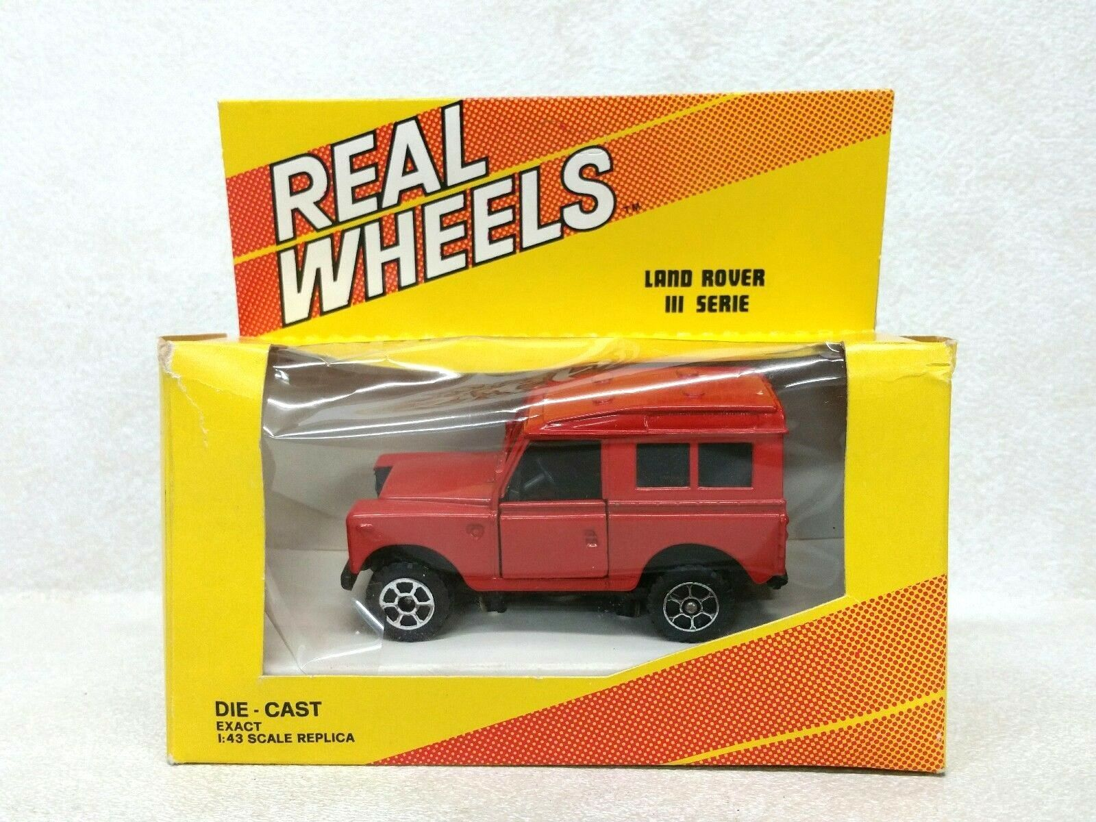 Polistil Real Wheels Land Rover III Serie Die-Cast Toy Car 1 43 Scale NIB