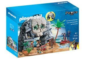 Playmobil-70113-Take-Along-Mythical-Pirate-Skull-Island-Treasure-Boat-Raft